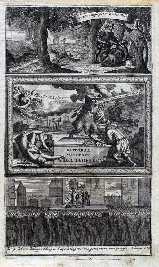 Titelkupfer, Johann Friedrich Corvinus.